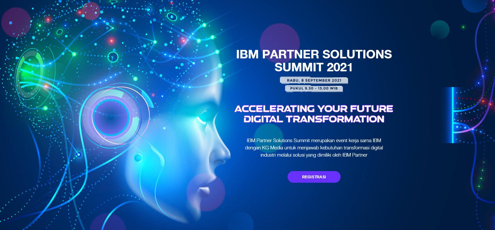 Partner Solutions Summit Kompas TV - IBM